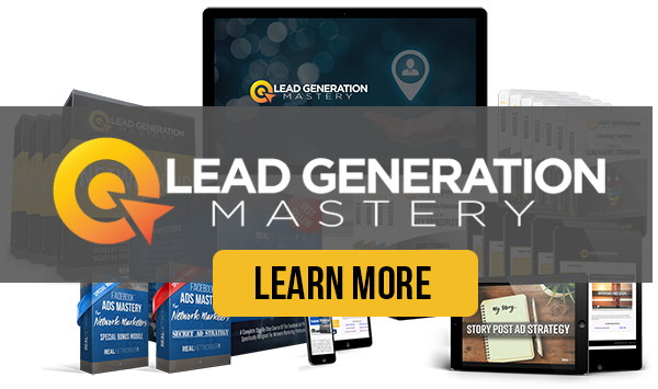 Network Marketing Lead Generation Mastery